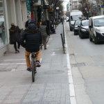 Καταργείται ο ποδηλατόδρομος της Παπαναστασίου