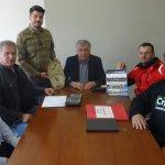 Με τον Νασιακόπουλο παράγοντες του Α.Ο Μαυροβουνίου
