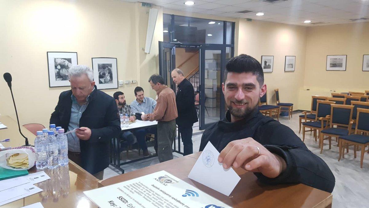 Λάρισα: Εκλογές στο Σύνδεσμο Εφέδρων Αξιωματικών (φωτ.)