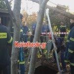 Τρεις νεκροί από πτώση σε πηγάδι στην Κόρινθο