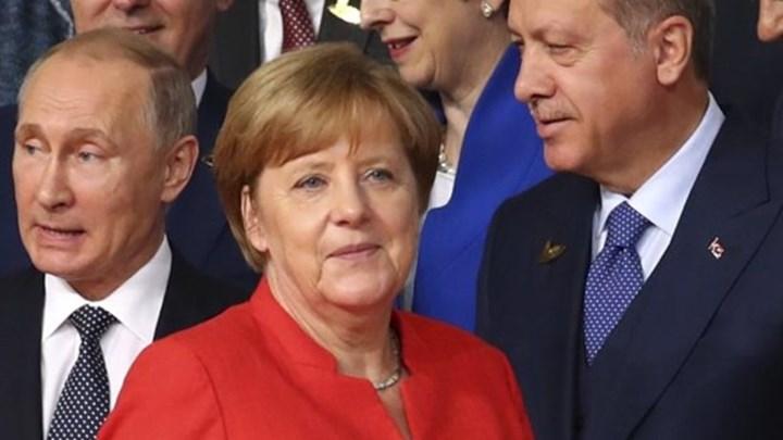 Ράπισμα Μέρκελ σε Ερντογάν και Πούτιν για την εισβολή στην Αφρίν