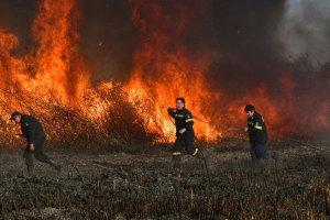 Οι επικίνδυνες περιοχές για φωτιά κοντά στα παράλια της Λάρισας