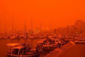 Σκόνη Σαχάρας στην Ελλάδα λόγω κλιματικής αλλαγής