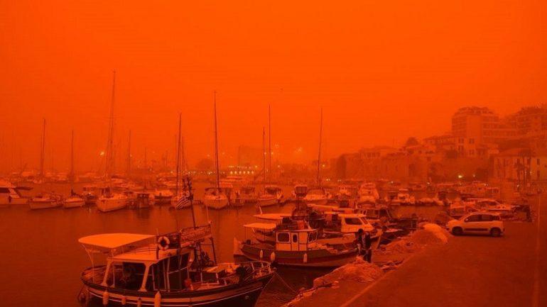 Δείτε πόσα γραμμάρια σκόνης ανέπνευσαν οι πολίτες στην Κρήτη