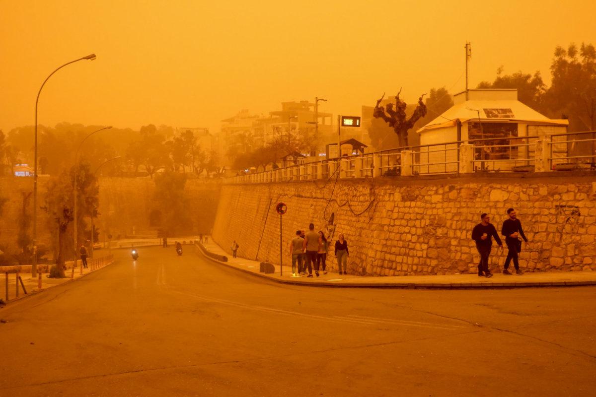 Αστεροσκοπείο Αθηνών: Ενα από τα μεγαλύτερα επεισόδια μεταφοράς σκόνης από τη Σαχάρα