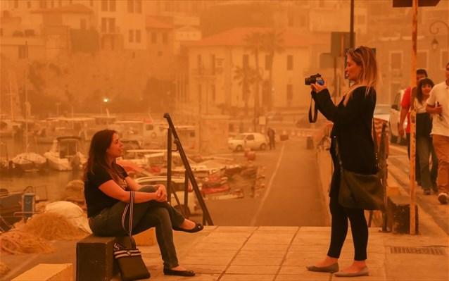 Υπό την απειλή της αφρικανικής σκόνης η Κρήτη
