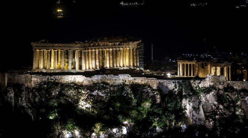 Η Ακρόπολη έσβησε τα φώτα της για την «Ώρα Γης»