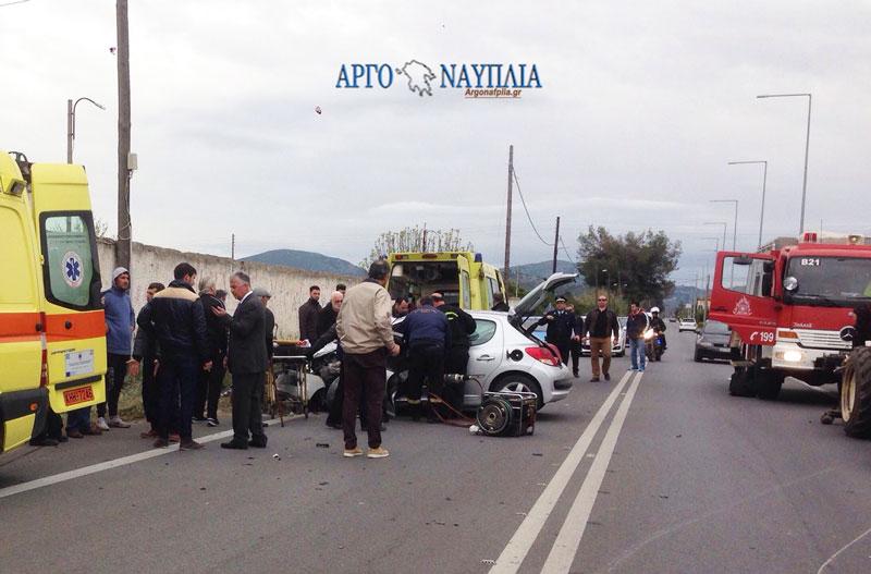 Τροχαίο με νεκρό έξω από το Ναύπλιο (φωτ. & βίντεο)