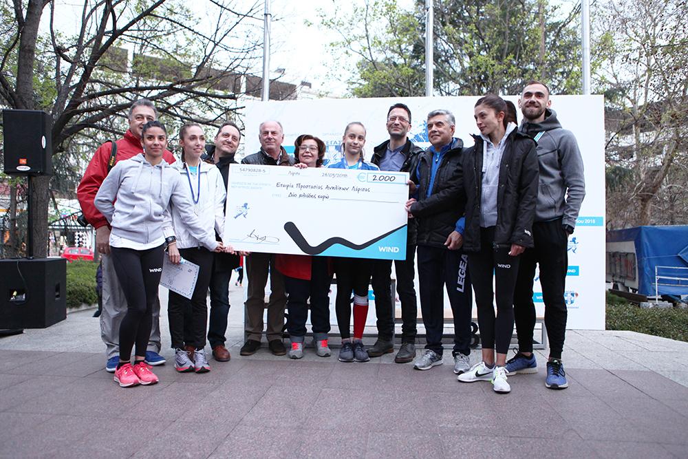 Στο 6o Run Greece της Λάρισας η WIND