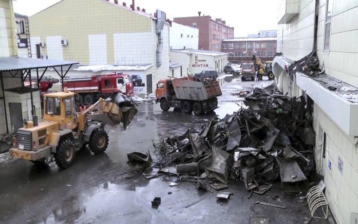 Τραγωδία στη Ρωσία: 64 νεκροί από πυρκαγιά σε mall