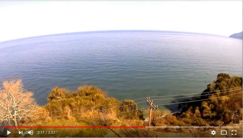 Τα παράλια της Λάρισας τον… χειμώνα (βίντεο)