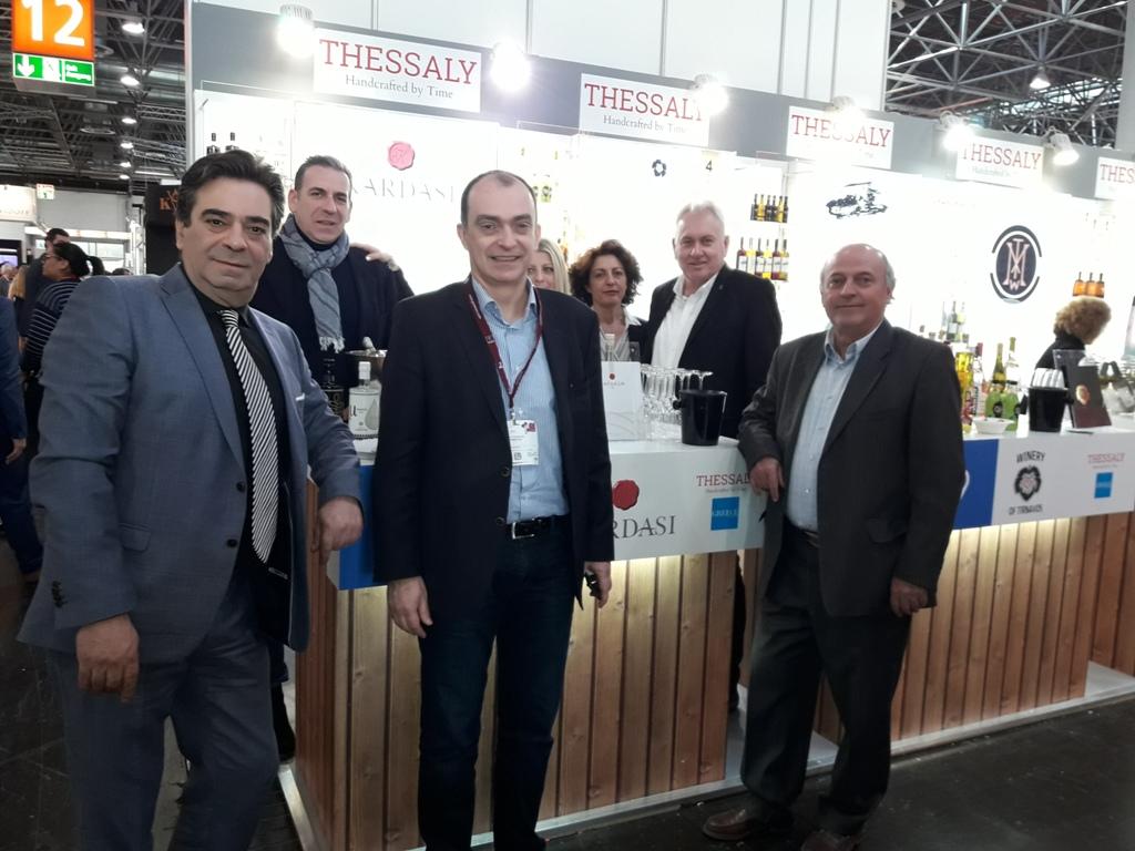 Στη σημαντικότερη διεθνή έκθεση οίνων και ποτών η Περιφέρεια Θεσσαλίας