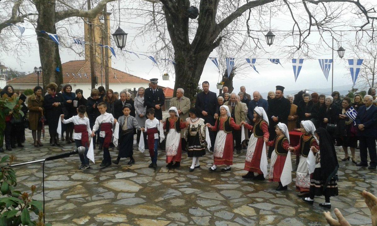 Εορτασμός 25η Μαρτίου στη ιστορική κοινότητα Ραψάνης