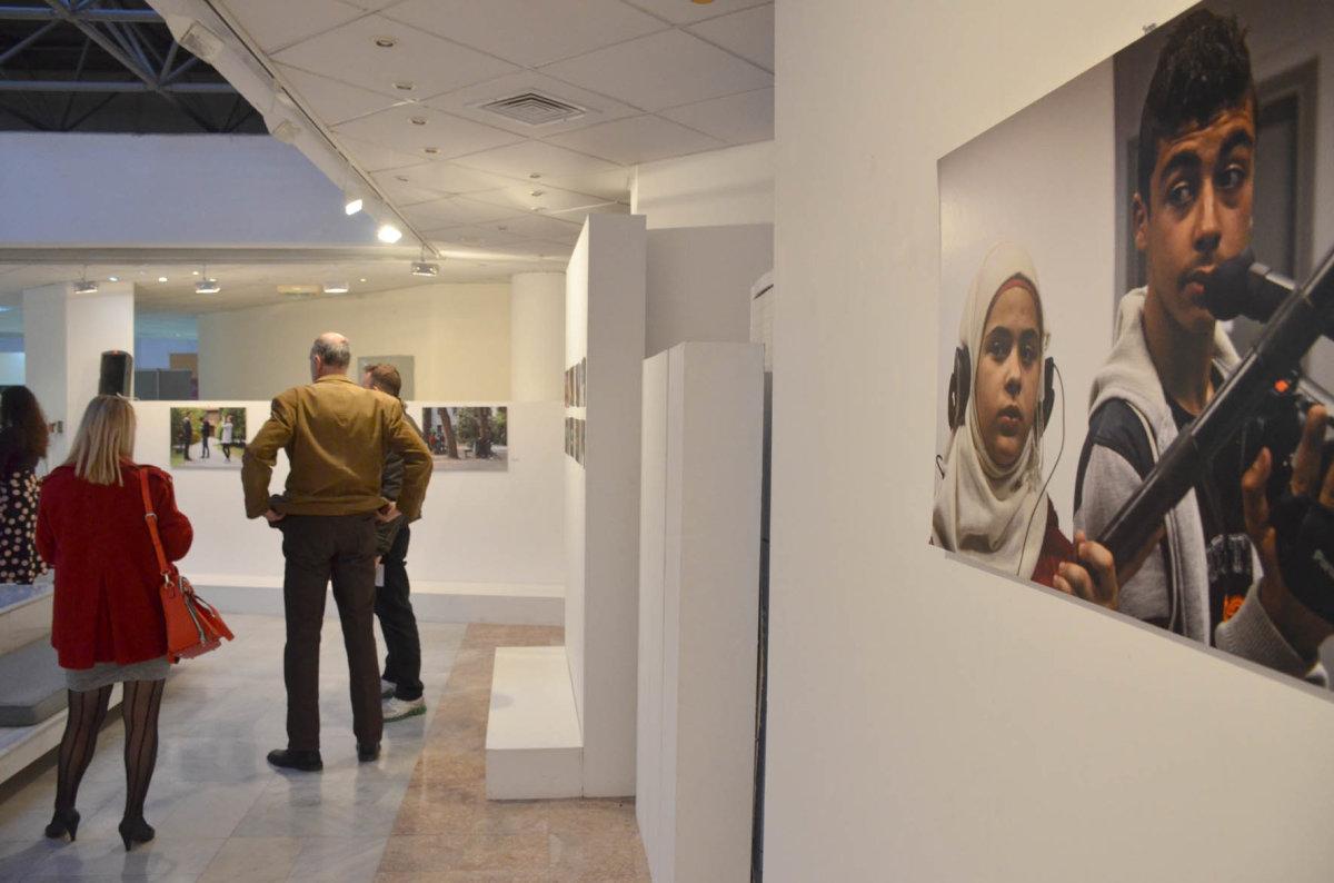 Έκθεση με ταινίες – φωτογραφίες που δημιούργησαν προσφυγόπουλα και μαθητές