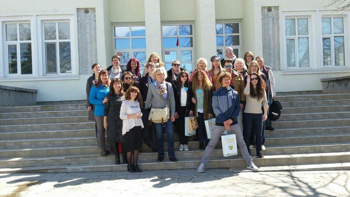 Εκπαιδευτικοί του Δημοτικού Σχολείου Βερδικούσιας στη Βουλγαρία