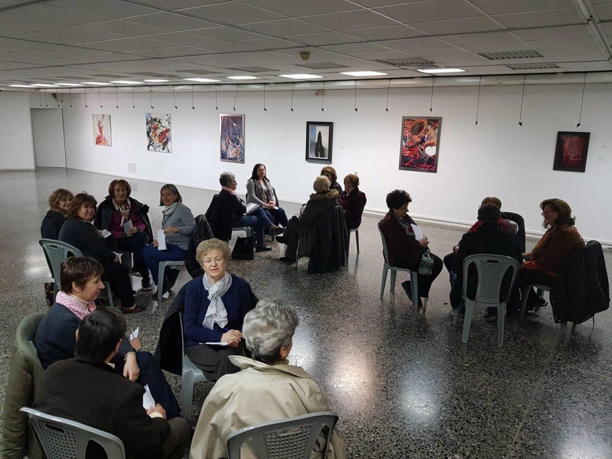 Ομάδα Συμβουλευτικής υποστήριξης από το Κέντρο Κοινότητας του Δήμου Λαρισαίων