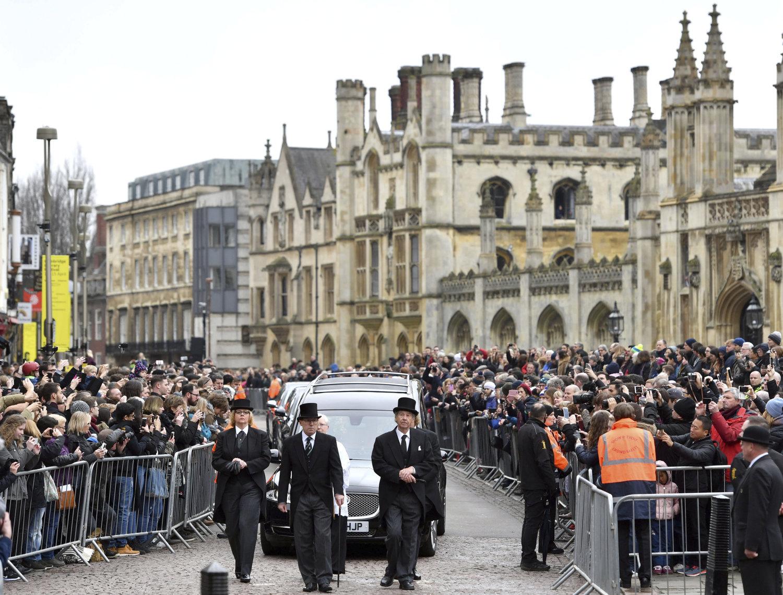 Britain Stephen Hawking Funeral