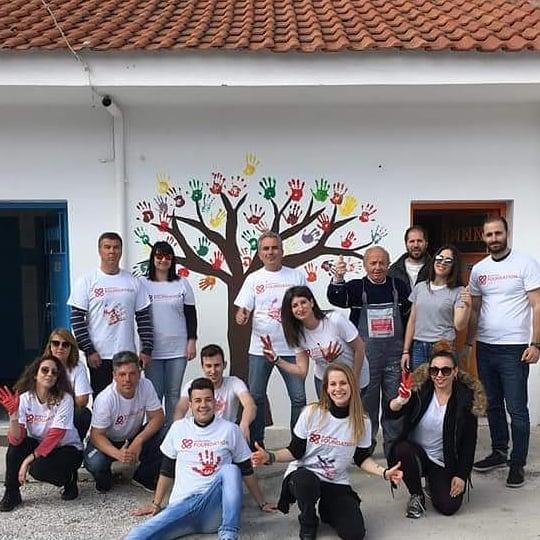 Ημέρα εθελοντισμού στο Δημοτικό Σχολείο Βερδικούσιας