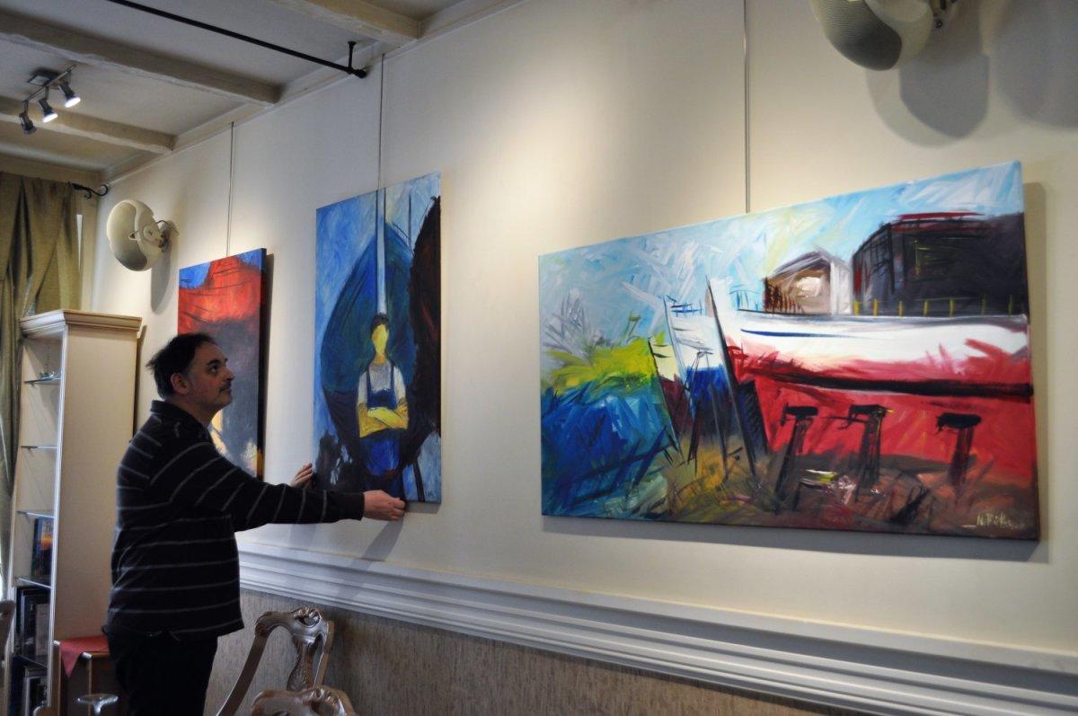Έργα του Μιχαήλ Βακαλούλη (Vakas) στο εστιατόριο «Να με θυμάσαι»