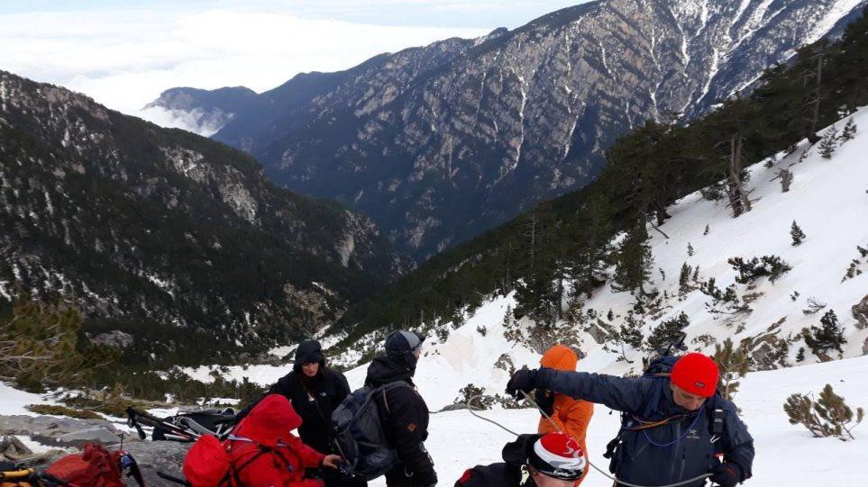 Καρέ καρέ η δραματική διάσωση του Γάλλου ορειβάτη στον Όλυμπο (φωτ.- βίντεο)