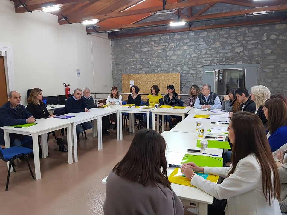 Συνάντηση εκπροσώπων φορέων που συμμετέχουν σε εκπαιδευτικό εργαστήρι