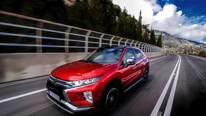 Δοκιμή Mitsubishi Eclipse Cross 1.5 163 ίππων T/C CVT 4WD Intense Plus