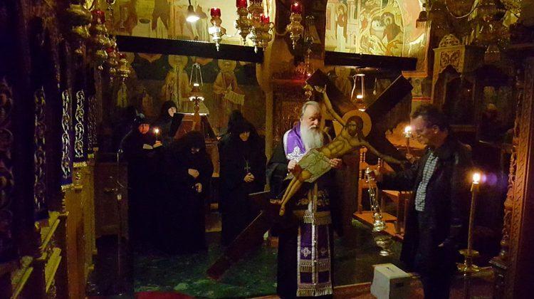 Η Σταύρωση στην Ιερά Μονή Βυτουμά (video-φωτό)