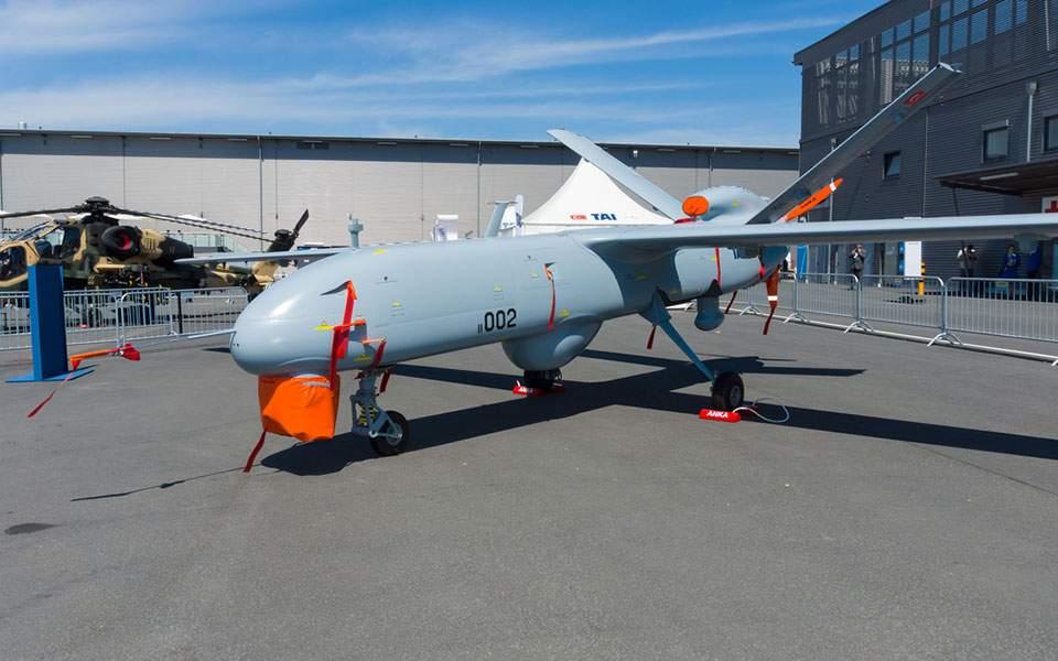 Αναχαίτιση τουρκικού drone από F-16 στο Αιγαίο