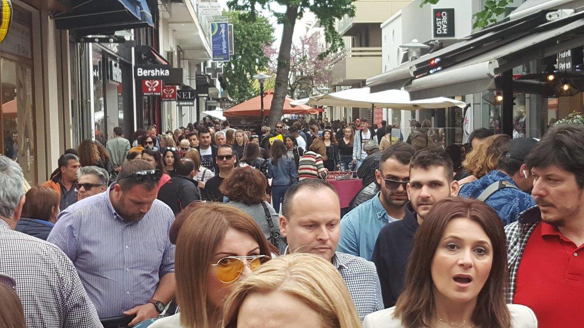Διαφωνία ΕΚΛ με την αλλαγή ωραρίου στην αγορά της Λάρισας