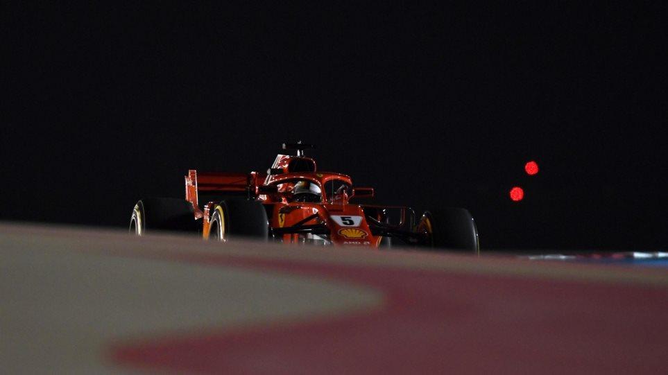 GP Μπαχρέιν: O Φέτελ στην pole!