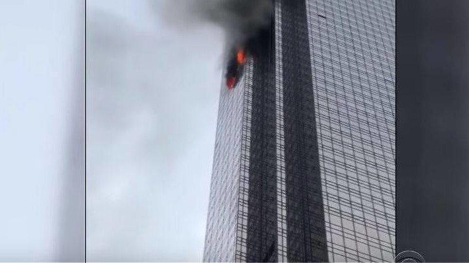 Ένας νεκρός και τέσσερις τραυματίες από πυρκαγιά στον Πύργο Τραμπ στη Νέα Υόρκη