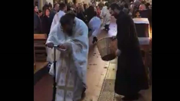 Η Πρώτη Ανάσταση με… πατίνι από ιερέα στο Λονδίνο (βίντεο)