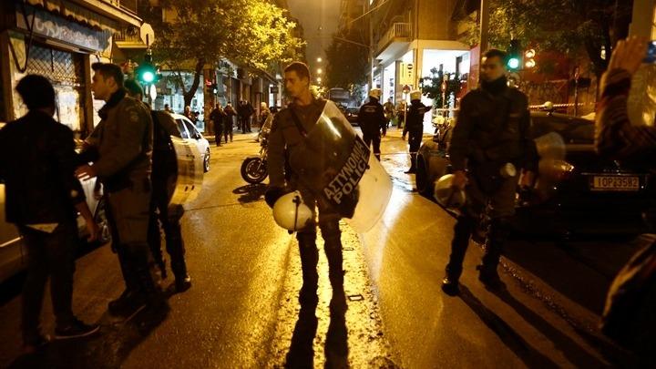 Επίθεση με μολότοφ εναντίον αστυνομικών