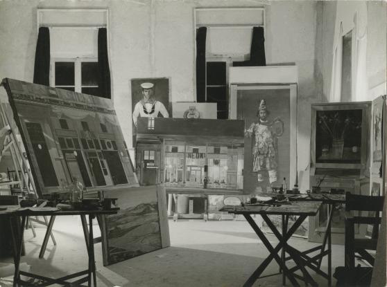 To σπίτι – εργαστήριο του Γιάννη Τσαρούχη ανοίγει ξανά τις πύλες του στο κοινό (φωτ.)