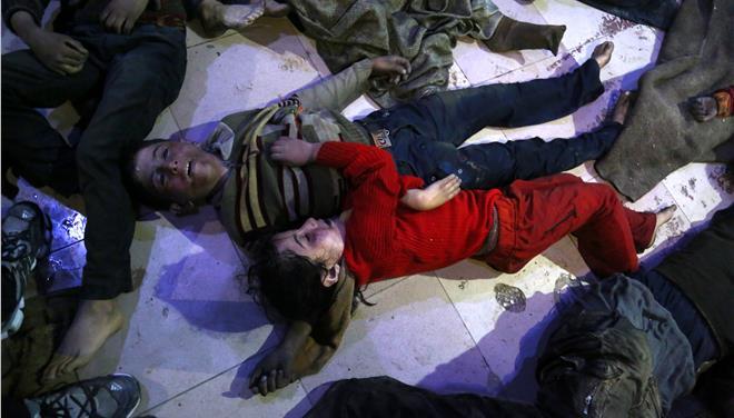 Μιλούν για 60 νεκρούς από την «χημική» επίθεση