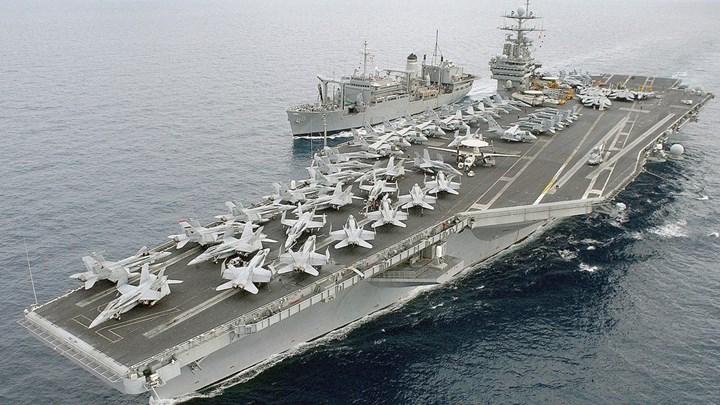 Οι ΗΠΑ στέλνουν αεροπλανοφόρο και 7 πολεμικά πλοία στη Μεσόγειο