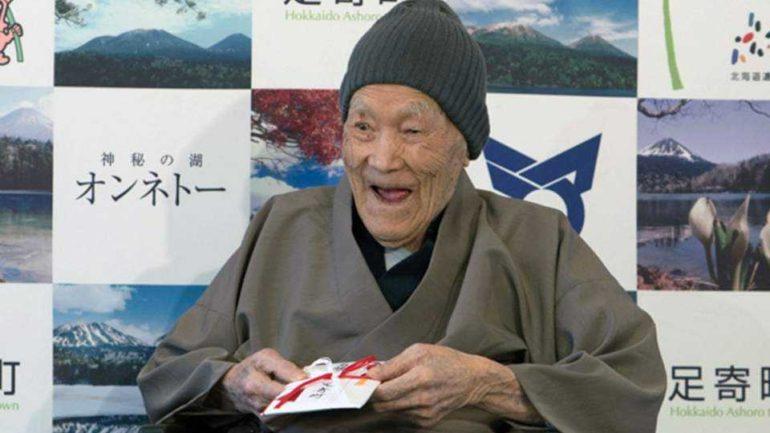 112 ετών ο γηραιότερος άνδρας στον κόσμο