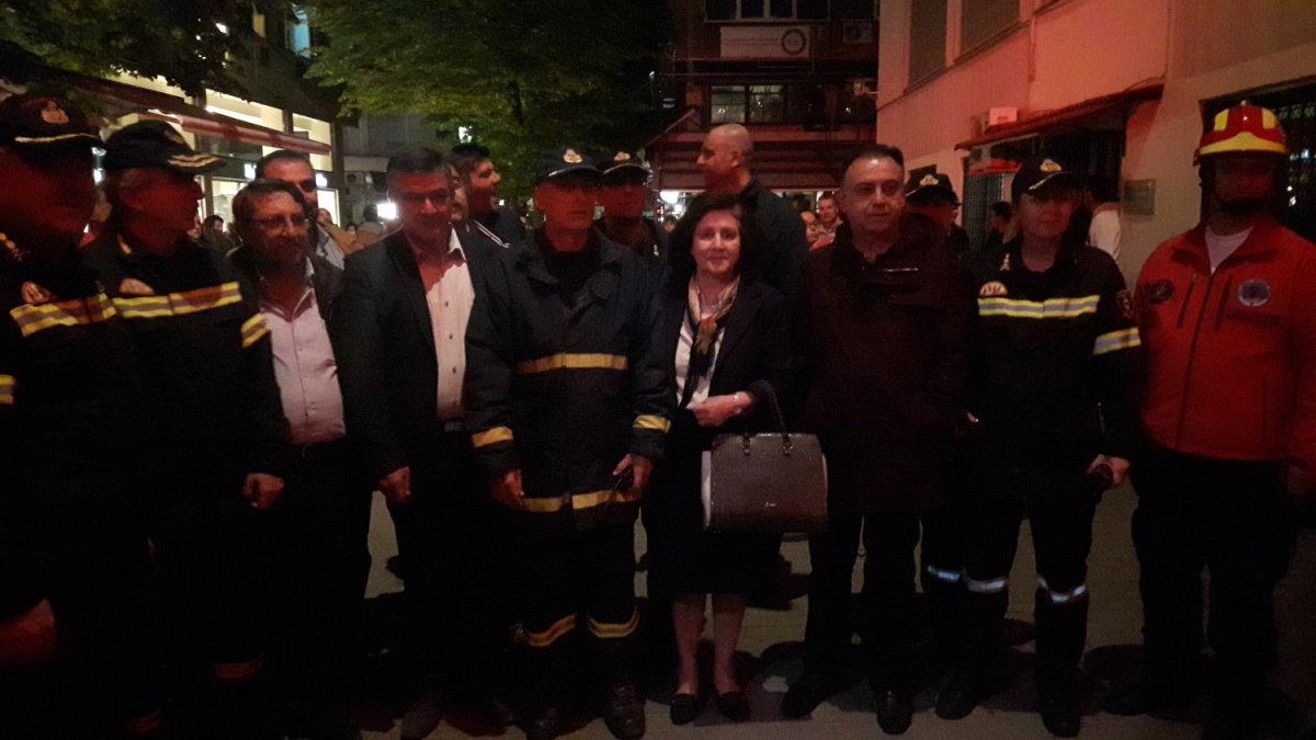 Kέλλας: Στήριξη των πυροσβεστών
