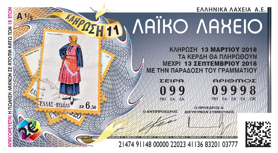 100.000 ευρώ από το Λαϊκό στη Λάρισα