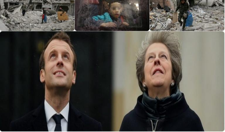 Συρία: Έτοιμοι να «μπουκάρουν» Μέι και Μακρόν!