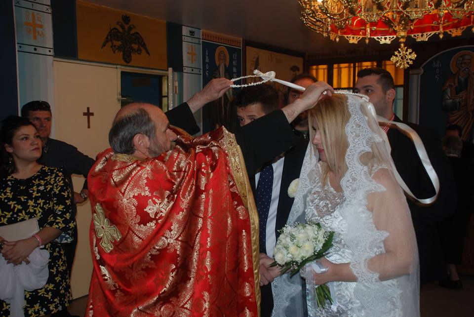 Γάμος στις φυλακές Λάρισας (φωτ.)