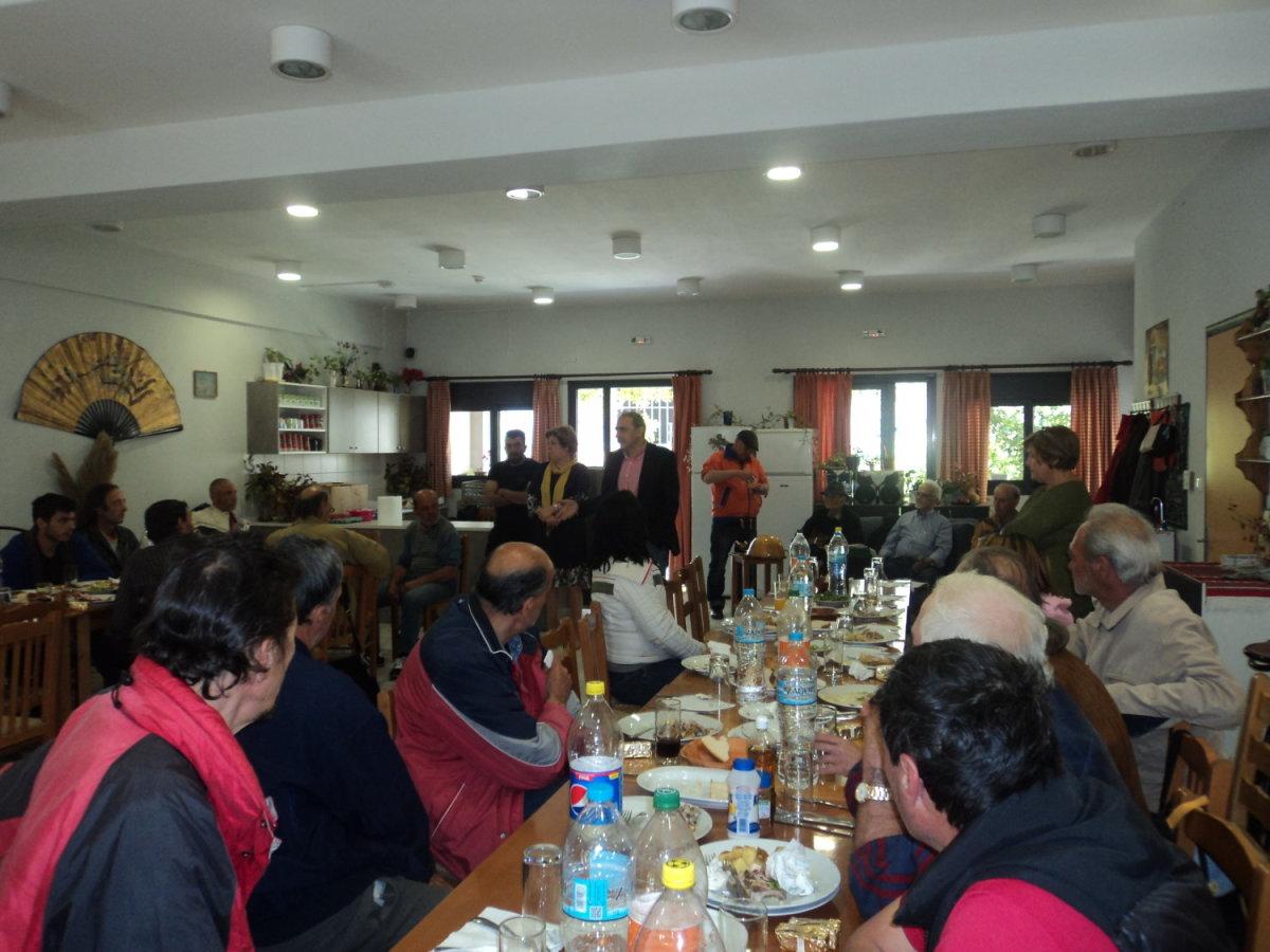 Εορταστικό Πασχαλινό Γεύμα στο Συσσίτιο του Δήμου Λαρισαίων