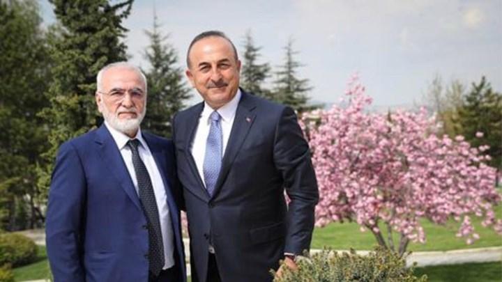 Συνάντηση Ιβάν Σαββίδη με τον Τούρκο ΥΠΕΞ στην Άγκυρα