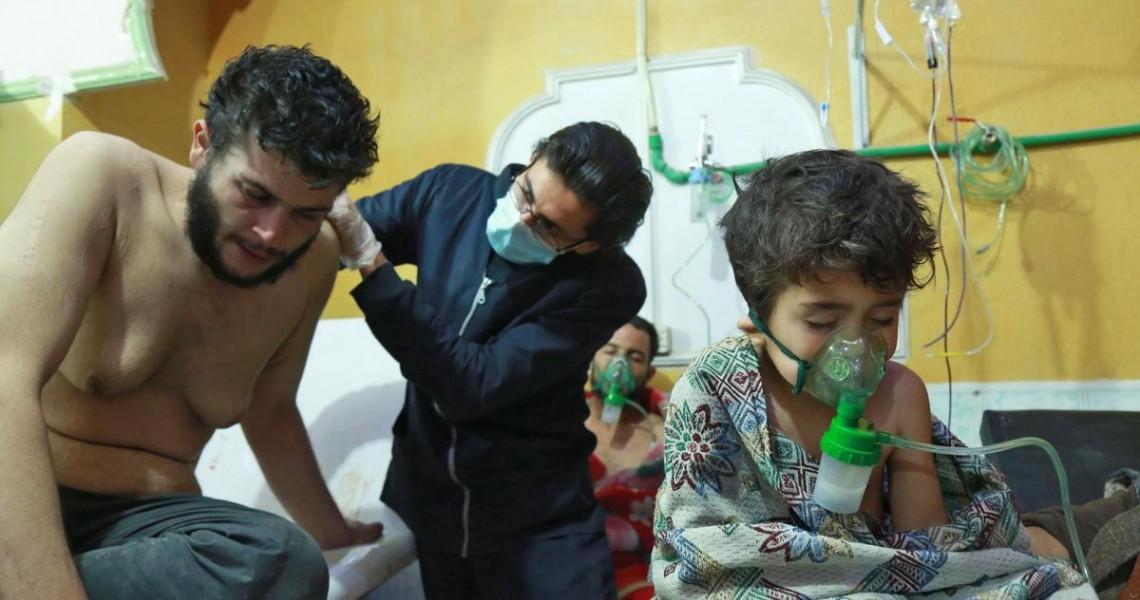 Οι ΗΠΑ έχουν «αποδείξεις» για χημικά στη Συρία