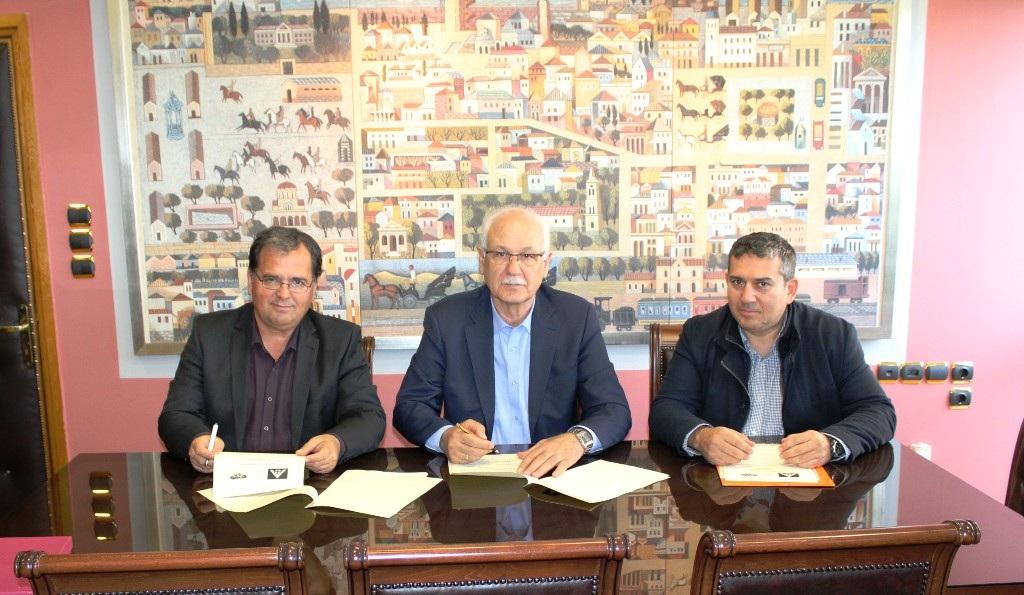 Συνεργασία Δήμου Λαρισαίων και Νοσοκομείων της πόλης