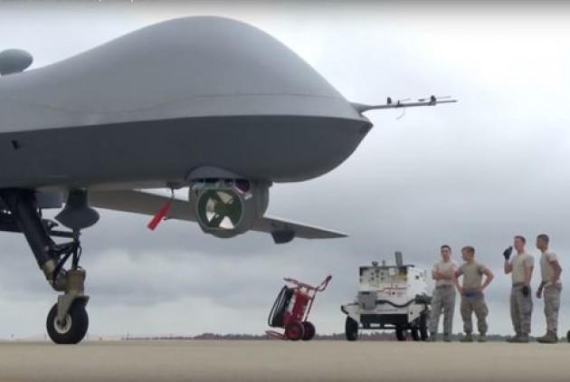 Drone MQ-9 Reaper στην Αεροπορική Βάση της Λάρισας!