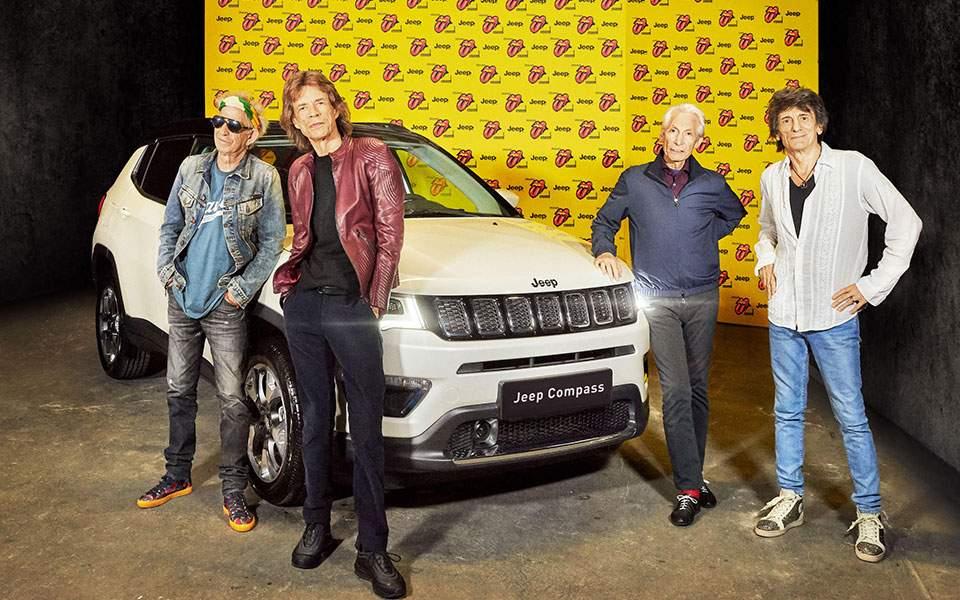 Οι Rolling Stones οδηγούν… Jeep Compass