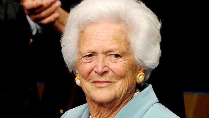 Απεβίωσε η πρώην Πρώτη Κυρία των ΗΠΑ Μπάρμπαρα Μπους