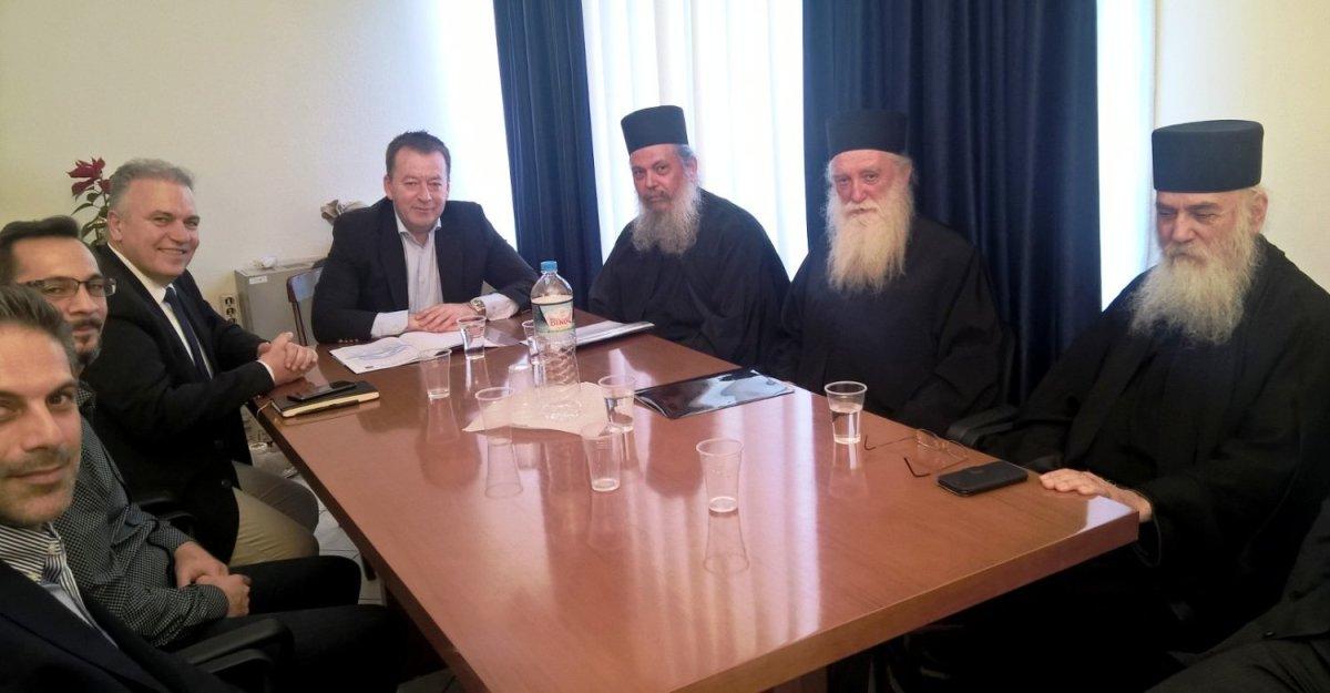 Συνάντηση Β. Κόκκαλη με την Ιεροκοινοτική Επιτροπή Αγ. Όρους