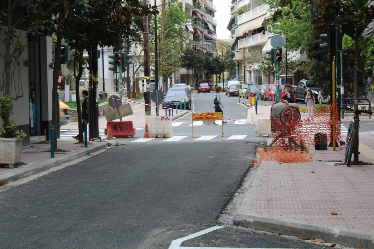 Λάρισα: Κλείνει για 25 ημέρες τμήμα της οδού Ηπείρου